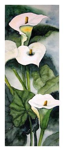 """Maria Inhoven, """"Calla"""" (44) / 2005  Mit einem Klick auf 'Als Kunstkarte versenden' versenden Sie kostenlos dieses Werk Ihren Freunden und Bekannten."""