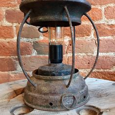 Upcycled 1950's Old Port Lantern  http://www.upcycledcreative.co.uk/buysomething/upcycled-1950s-old-port-lantern