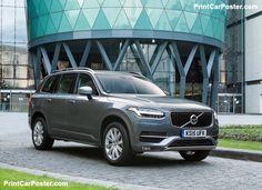 Volvo XC90 [UK] 2015 poster, #poster, #mousepad, #tshirt, #printcarposter