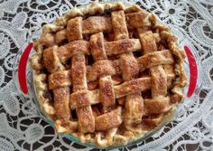 """""""The best apple pie recipe"""". Interesting idea of making a sauce to toss the apples in first Homemade Apple Pies, Apple Pie Recipes, Baking Recipes, Yummy Treats, Sweet Treats, Yummy Food, Tasty, Just Desserts, Dessert Recipes"""
