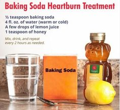 Baking soda is a low cost antacid for treatment of heartburn and acid reflux. Here are 4 ways of preparing baking soda in water for instant relief. 1 Weird Trick Forces Your Body To Stop Acid Reflux and Heartburn Faster Than You Ever Thought Possible!