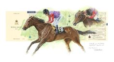 ESTIMATE Print, Royal Ascot Limited Edition Horse Racing Art by Terence Gilbert