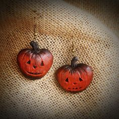 earrings from Halloween collection #etsy #etsyscout #giftsideas #gifts #polymerclay #bywilddrago #wilddragoshop Here you can see my work. And do you know where you can buy beautiful gifts from polymer clay for him, for her, for mum, for dad, for a friend to all. @WildDrago_CraftShop
