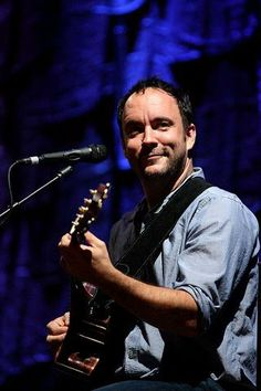 Dave Matthews, there's something so sexy about his talent