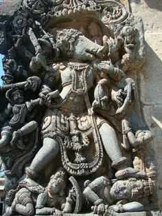 detail,exterior wall,Kesava temple.