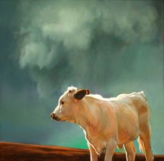 Teresa Elliott  : It's not often I admire a painting of a cow I don't classify as illustration.