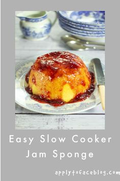 Slow Cooker Jam Sponge Crock Pot Slow Cooker, Slow Cooker Recipes, Dessert Recipes, Dinner Recipes, Make Ahead Desserts, Thing 1, Easy Entertaining, Cookers, Appetisers
