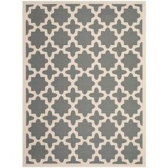 Safavieh Courtyard Anthracite/Beige 9 ft. x 12 ft. Area Rug-CY6913-246-9 at The Home Depot