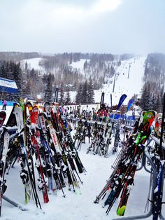 Vail, Colorado. I wasn't bad at skiing. The problem was stopping.