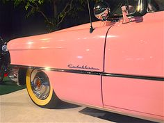 Elvis Presley 's #PinkCadillac . #Elvis mentioned this iconic model in his 55 song Baby Let's Play H