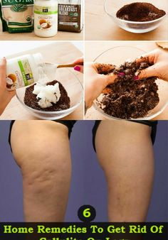 """Cellulite has been long-deemed """"untreatable."""" But frequently, the solve for many of our beauty concerns is already in our pantry or garden. Try this at-home cure using coffee grounds and coconut oil for cellulite. Bb Beauty, Beauty Care, Beauty Skin, Home Remedies, Natural Remedies, Cellulite Remedies, Cellulite Scrub, Reduce Cellulite, Anti Cellulite"""