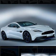 Stunning white  Aston Martin Vanquish!