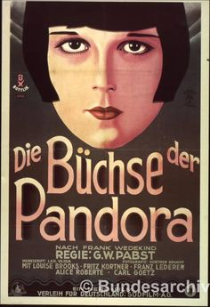 Pandora's Box poster with original film title
