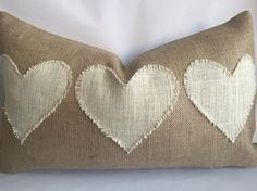 Dream in any Language - Burlap Pillow - Personalize Dream with the language of your choice - Custom Dream Pillow Lumbar - French Rever Owl Pillow, Heart Pillow, Lumbar Pillow, Pillow Talk, Handmade Pillow Covers, Handmade Pillows, Decorative Pillows, Burlap Fabric, Burlap Pillows