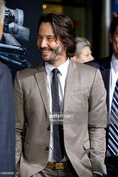 Keanu Reeves attends the premiere of Summit Entertainment's 'John Wick: Chapter Two' on January 30, 2017 in Hollywood, California. (Photo by JB Lacroix/WireImage)