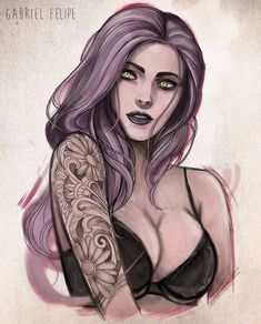 Female Character Design, Character Design Inspiration, Character Art, Art Sketches, Art Drawings, Art Nouveau Design, Digital Art Girl, Girls Characters, Fantasy Girl