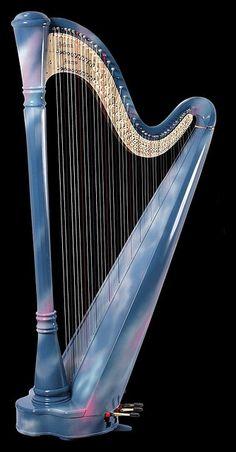 selena pedal harp - russian by guitar1940, via Flickr