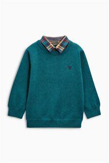 Mock Shirt Jumper (3mths-6yrs)