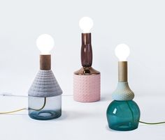 MRND: Lamps Inspired by Giorgio Morandi