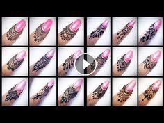 50 beautiful latest finger mehndi designs 2017 | 50 new detailed henna designs for fingers 2017… Henna Hand Designs, Mehndi Designs Finger, Mehandi Designs Easy, Modern Mehndi Designs, Mehndi Designs For Fingers, Mehndi Fingers, Henna Butterfly, Mehndi Patterns, Mehndi Images
