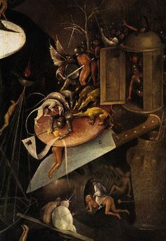 Hieronymus Bosch, The Garden of Earthly Delights (detail), c. 1510