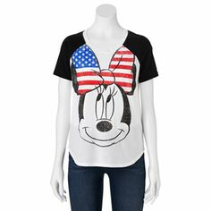 Disney Minnie Mouse Tee - Juniors