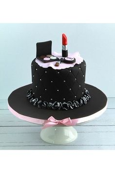 Make-up birthday cake.