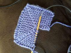 Beginning of a Ten Stitch Blanket