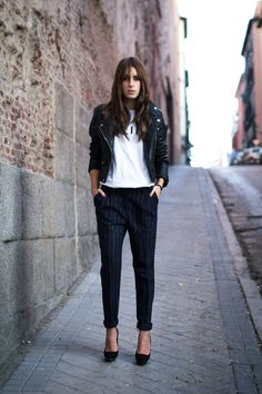 the-streetstyle:  Pinstripevia lucitisima