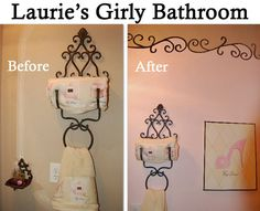 Paris Themed Bathroom {to Make Hubby Happy, Iu0027m Using Either Blue/