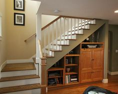 Traditional Staircase Storage Design, Pictures, Remodel, Decor and Ideas - page 7