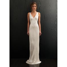 Bonny Floor-length V-neck Mermaid Backless Chiffon Formal Dress