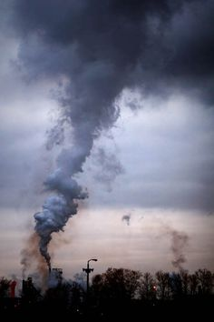 Industrial photograph pollution smog factory by judeMcConkeyPhotos, $30.00