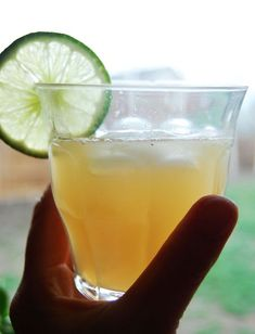 Berlin's Whimsy - Raw & Pure Ginger Ale Refreshment...  In a glass, whisk together until combined---  2 T. Ginger Juice;  2 T. Raw Agave Sweetener;  Juice of 1 fresh lime;  Add ice and sparkling mineral water.