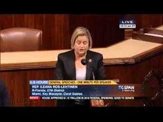 US Lawmaker Ileana Ros-Lehtinen Gives MUST-SEE Speech Legitimizing Israel's Biblical Sovereignty Over Jerusalem [VIDEO] - Breaking Israel News | Israel Latest News, Israel Prophecy News