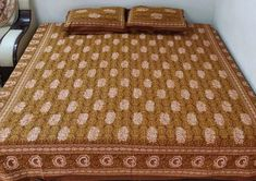 Our Exclusive range of 100% cotton, hand made bedsheets Bed Sheets, Mattress, Range, Cotton, Furniture, Home Decor, Cookers, Decoration Home, Room Decor