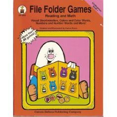 I use file folder games in my classroom quite a bit as an independent activity or an activity for students to complete as a time filler in between activities. Here are some of the books that I have…