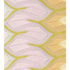 Missoni knit scarf detail