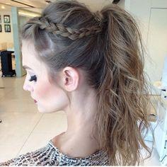 Loving this side braid!