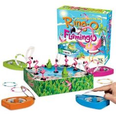Amazon.com: Ring-O Flamingo: Toys & Games $24.88  gift idea for her pink flamingo party