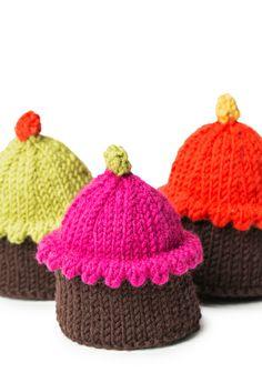 Neulotut leivokset SK 2/14. Crocheting, Knitted Hats, Knit Crochet, Beanie, Knitting, Crafts, Fashion, Crochet, Moda