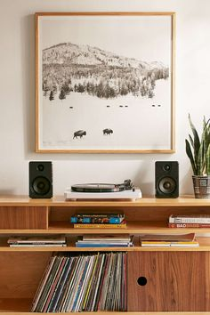 Shop Michael O'Neal American Bison Art Print at Urban Outfitters today. We carry all the latest styles, colors and brands for you to choose from right here. Living Pequeños, Living Spaces, Living Room, Feng Shui Colores, Interior Exterior, Interior Design, Deco Studio, Estilo Interior, Wood Molding