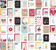 Love SN@P! 3x4 Cards | Simple Stories