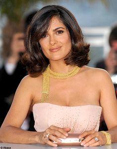 Salma Hayek in Boucheron jewelry