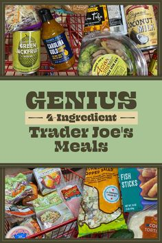 28 Cheap And Easy Four-Ingredient Trader Joe's Meals That I've Made Over And Over New Recipes, Snack Recipes, Cooking Recipes, Favorite Recipes, Yummy Recipes, Beef Fried Rice, Harissa Chicken, Salad Kits, Fish Salad