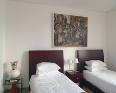 Adolf Tega is one of our 'hot' artists - his rich, textured works create a focal point in any room Furniture, Room, Selling Artwork, Focal Point, Wall Of Fame, New Homes, Wall, Home Decor, Bed