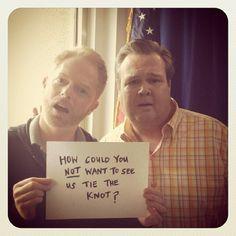 My favorite TV gay couple. Love them ☺