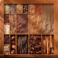 Spice box as display box