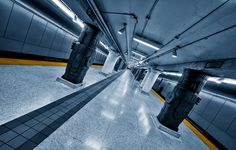 """""""the symphony of the lines III"""" - subway photography by roland shainidze"""