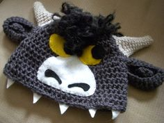 Wild Thing Bull Hat by Cottonhead on Etsy